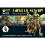 Bolt Action WWII American Infantry plastic boxed set by Warlord Games