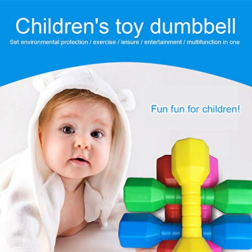 2pcsSet-Children-Hand-DumbbellsWeights-Fitness-Home-Gym-Exercise-Barbell-Children-Exercise-Fitness-Sport-Toys-Hand-Weights-Kindergarten-Fun-Gift