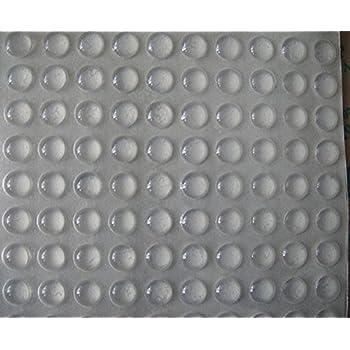 Amazon Com Self Adhesive Clear Rubber Feet Tiny Bumpons