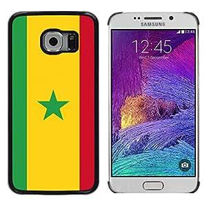 Stuss funda/carcasa rígida–carcasa protectora–Un diseño de bandera con amarillo–Samsung Galaxy S6EDGE