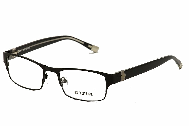 harley davidson eyeglasses hd 478 satin black 52mm at amazon menu0027s clothing store