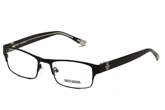 HARLEY DAVIDSON Eyeglasses HD 478 Satin Black 52MM at Amazon Men\'s ...