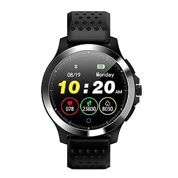 Cadeau Homme Montre Connectée Homme W8 Montre Intelligente Écran Couleur ECG et PPG Chronomètre de Sport