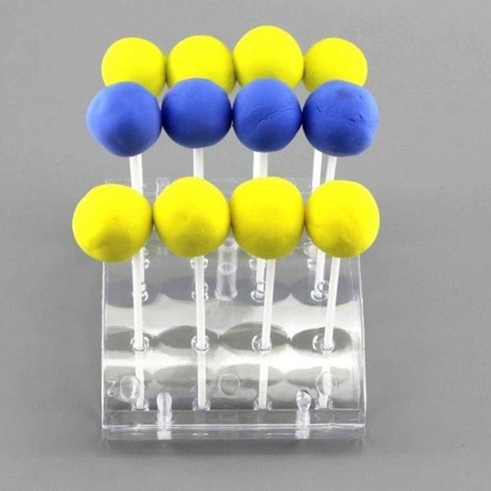 14 X 10,5 X 3 Cm22 X 16 X 3 Cm Dire-wolves Porta Dolcemente Supporto per Pop//Lecca Lecca per 20 Cake Pop PS Ecologico