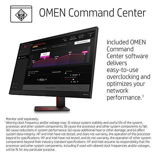 OMEN by HP Gaming Desktop Computer, Intel Core i7-9700K Processor, NVIDIA  GeForce RTX 2070 8 GB, HyperX 16 GB RAM, 1 TB Hard Drive, 256 GB SSD,