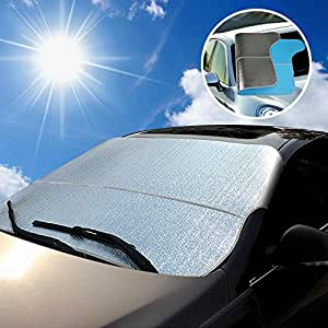 super pdr winter warrior auto car windshield cover protection from sun and snow frost guard for. Black Bedroom Furniture Sets. Home Design Ideas