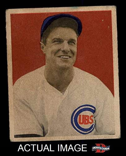 1949 Bowman # 83 NNOF Bob Scheffing Chicago Cubs (Baseball Card) (No Name on Front) Dean's Cards 5 - EX Cubs 51n2yop59lL