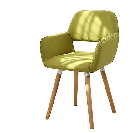 Simple wooden sofa chair Pure Wood Image Unavailable Amazoncom Amazoncom Lqqgxl European Chair Solid Wood Leisure Chair European