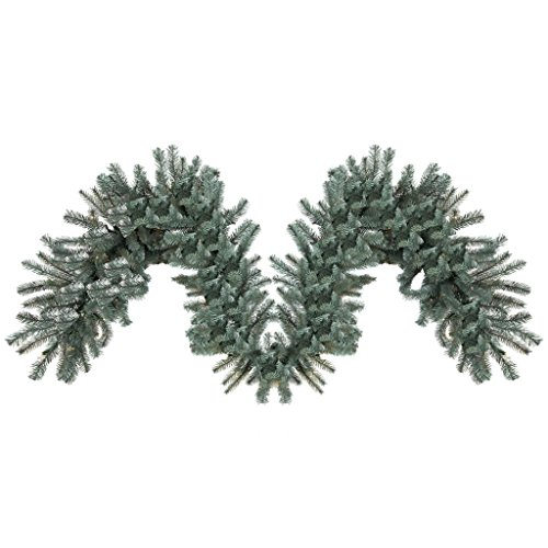 Vickerman 456293 - 9' Colorado Blue Spruce Christmas Garland ()