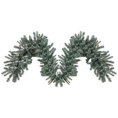 Vickerman 456293 - 9' Colorado Blue Spruce Christmas Garland (A164814)