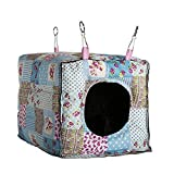 Amariver Hammock Hanging Bed Toy House Cage for