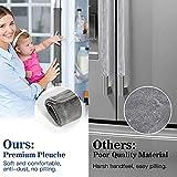Nuovoware Refrigerator Door Handle Covers 4