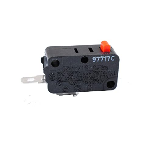 Podoy SZM V16 Microwave Door Switch for LG GE Starion SZM-V16-FD-  sc 1 st  Amazon.com & Amazon.com: Podoy SZM V16 Microwave Door Switch for LG GE Starion ...