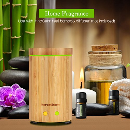 Onepure Aromatherapy Essential Oils Gift Set, 6 Bottles/ 10ml each, 100% Pure & Therapeutic Grade ( Lavender, Tea Tree, Eucalyptus, Lemongrass, Sweet Orange, Peppermint)