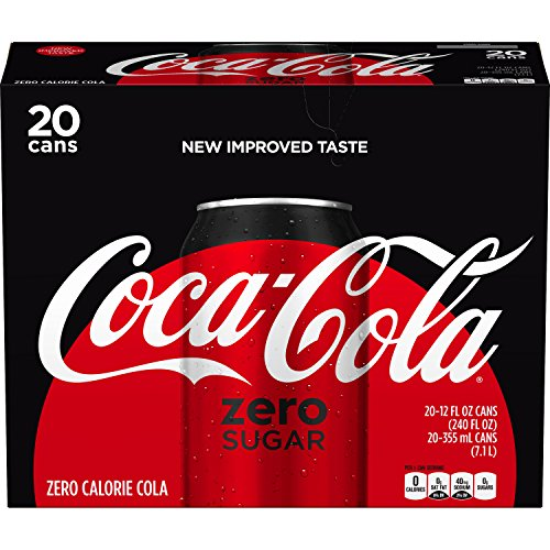Review Coca-Cola Zero Sugar, 12