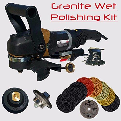 12' Diamond Head (Stadea SWP111K Granite Bullnose Polishing Tools Package Kit - 5