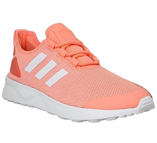 Zx Orange korall Adidas blanc Korall Flux Adv blanc Rose AqzInxPdw