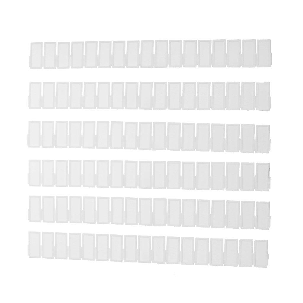 6pcs Tablas De Madera Plástico Panel De Polvo Cajón Armario Divisor De Almacenamiento De Red De Bricolaje Generic STK0155005514
