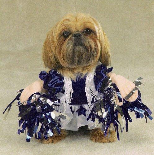 Dog Cheerleader Costumes (Halloween Costume for Dog Spirit Paws Cheerleader Costume by Zack & Zoey)