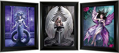 Lee's Collection Medusa & Fairies 3D Picture and Frame, - Collection Medusa