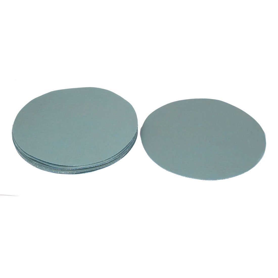 uxcell 7inch Dia Silicone Carbide 5000 Grit Polishing Sand Paper 10pcs