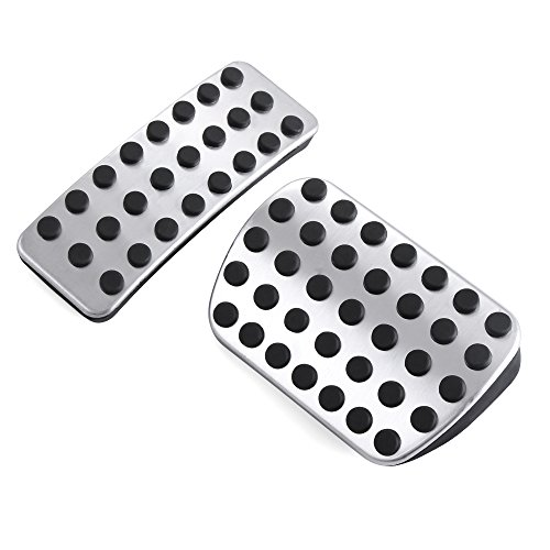 (Stainless Steel Gas Brake Pedals Pads for Mercedes Benz M GL R Class AMG GL350 GL450 GL550 GL63 AMG ML350 ML550 ML63 AMG R350 ML450 GL320 ML320 R320 ML500 R500)