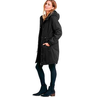 332ab3254c0 Ellos Women s Plus Size Twill Hooded Anorak - Black