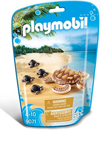 Playmobil Sea Turtle with Babies Building - Charm Land Turtle Small