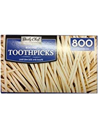 Favor Bakers & Chefs Round Toothpicks, 4 per 800 Count cheapest