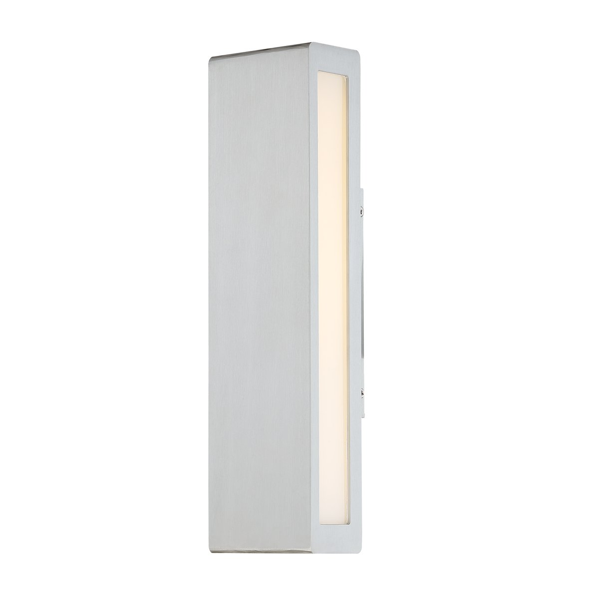 WAC Lighting WS-W17714-AL Verve 14'' LED Outdoor Wall Light, 14 Inches, Brushed Aluminum