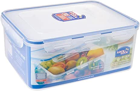 Lock & Lock Classic Stackable Airtight Rectangle Food Container, 5.5L (HPL-836)