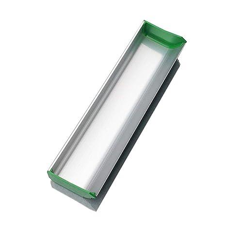 Yintiod Emulsion Scoop Coater Serigrafiado Aluminio Serigrafiado Herramienta de revestimiento 6//8 pulgadas Calibradora