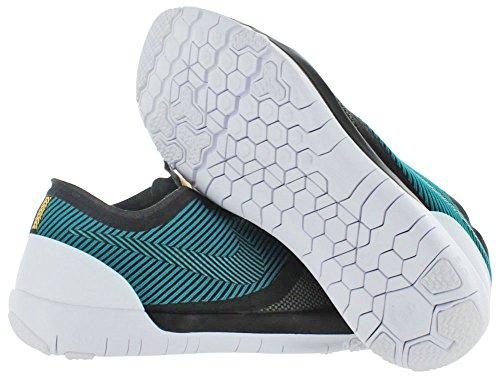 ... Nike Entraîneur Des Hommes Libres 3.0 V4 Chaussure Dentraînement Noir /  Rayonnement Émeraude Mdm Olive Blanc