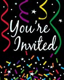 New Year Sparkle - Prismatic Invitations Party Accessory