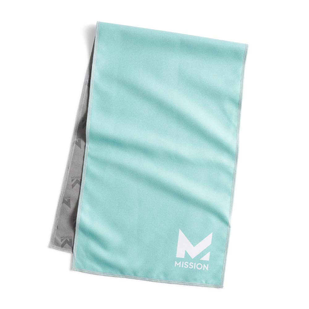 Mission Original Cooling Towel, Aqua Sky, One Size by Mission