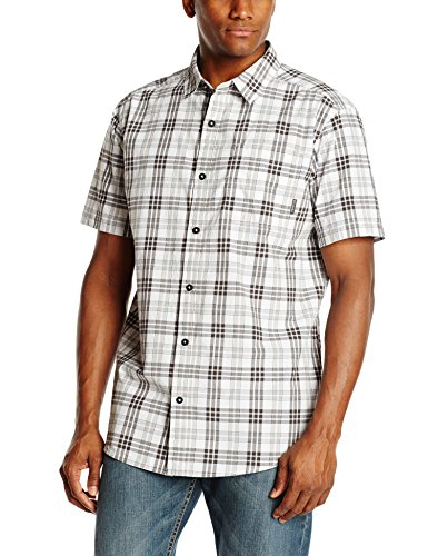 29818fd82b6 Columbia Men's Thompson Hill II Yarn Dye Shirt, White/Check, Large - Buy  Online in UAE. | Apparel Products in the UAE - See Prices, Reviews and Free  ...