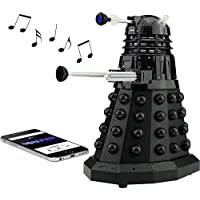 Doctor Who Dalek SEC Bluetooth Speaker with MIC, LED's and Sound Effects, Best Doctor Who gift in the Universe