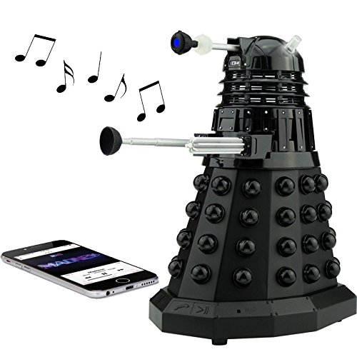 Doctor Who Dalek SEC Bluetooth Speaker with MIC, LED's and Sound Effects