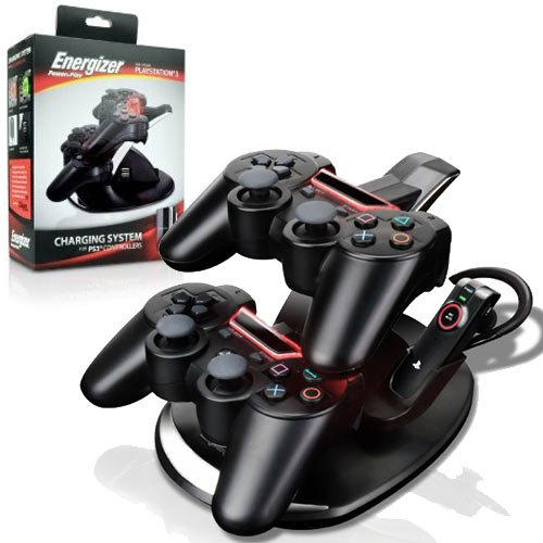 PS3 Charger Energizer Charge Station Controllers