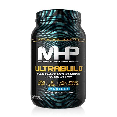 MHP Ultra-Build Protein, Vanilla, 2 Pound