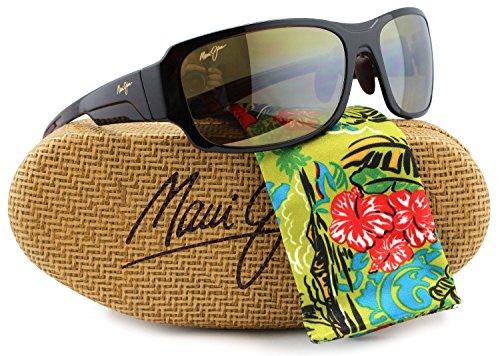 Maui Jim MJ-415-26B Bamboo Forest Sunglasses Rooter Fade w/ HCL Bronze H415-26B 60mm ()