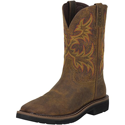 Justin Original Work Boots Men's Stampede Collection 11