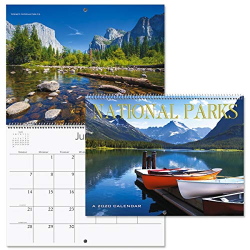 2020 National Parks Wall Calendar- 12