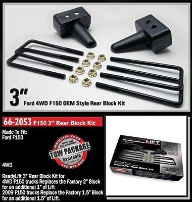 "ReadyLift 66-2053 3"" Rear Block Kit"