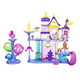 mlp merchandise - My Little Pony: The Movie Canterlot & Seaquestria Castle with Light-Up Tower