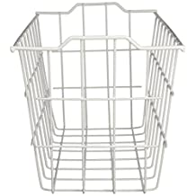 Grayline 40604, Deep Storage Basket, White