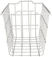 The Deep Storage Basket is ideal for use in freezers or pantries to provide a simple and easy way to store any variety of items. Its simple and versitile design makes it easy to store, move, and reorganize without the hassle of re-assembling....