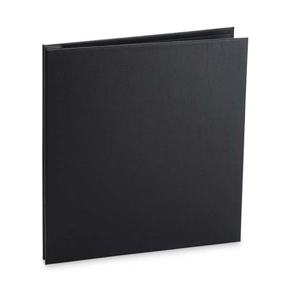 Pina Zangaro Varenna 11X8.5' Portrait Screw Post Expandable Leather Presentation Book, Black LYSB00563UWP4-ELECTRNCS