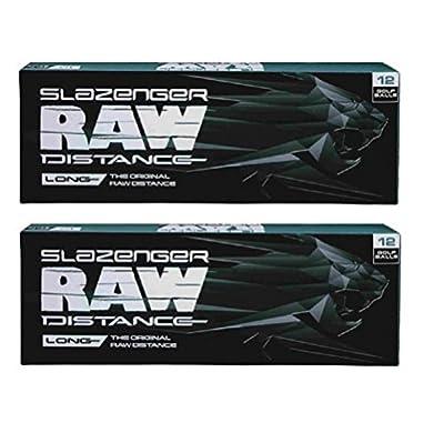 Slazenger 2pk Raw Distance Golf Balls - White - 24 Balls