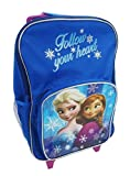 Disney Frozen Premium Wheeled Children's Bag, 38 Cm, Blue